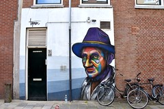 Mural - Eendrachtsstraat Rotterdam (FaceMePLS) Tags: rotterdam nederland thenetherlands facemepls nikond5500 straatkunst streetart kunst graffiti painting tekening muurkunst muurtafereel tafereel