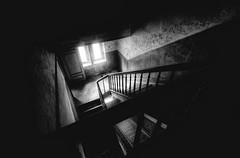 Step By Step (-SebsTian-) Tags: dark light old urbex blck white sigma 1020