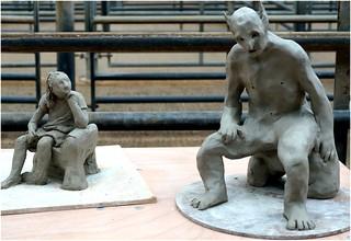 Seated figure challenge