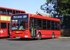 GAL 151 - YX60FTU - BX BEXLEYHEATH BUS GARAGE - WED 17TH AUG 2016 (Bexleybus) Tags: go ahead goahead london bx bexleyheath bus garage depot kent adl dennis enviro 200 metrobus 151 yx60ftu tfl route b14