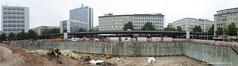 Baustelle Bahnhofsplatz 69 (Susanne Schweers) Tags: architektur bahnhofsplatz bremen baustelle max dudler architekt bebauung hochhuser citygate gebude