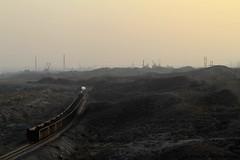 I_B_IMG_8127 (florian_grupp) Tags: asia china steam train railway railroad bayin lanzhou gansu desert landscape loess mountains sy ore mine 282 mikado steamlocomotive locomotive