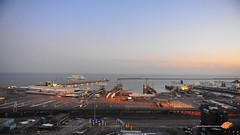 Port of Dover, England (~FreeBirD~) Tags: england uk britain dover portofdover crossing englishchannel ferry poferry crossings night timelapse