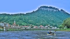 Knigstein in der Schsischen Schweiz V2 (JeanM.DD) Tags: europa europe germany deutschland sachsen dresden canon powershot g15 knigstein schsischenschweiz schsischen schweiz elbe