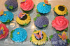 Flower and Butterflies Cupcakes