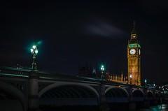 Mysterious Westminster Bridge (DanielSan_05) Tags: westminster bridge thames bigben river london britain england english clock tower architecture cityscape city landmark