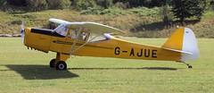 Auster J-1 Autocrat G-AJUE Auster Fly-in Popham 2016 (SupaSmokey) Tags: auster j1 autocrat gajue flyin popham 2016