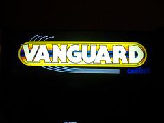 Vanguard (scottamus) Tags: classic arcade video game cabinet marquee illuminuated art artwork design graphics vanguard centuri 1981