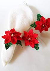 20161021_095824 (Paula Cruz - Polymer Clay Artist) Tags: poinsettia flowers bicodepapagaio artesanato paulacruz felt feltro flores flordonatal flordenochebuena decor christmasdecor casa