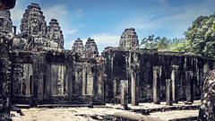 Bayon Temple, Cambodia (Gs Jing) Tags: landscape cambodia siem reab temple art