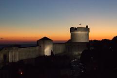 IMG_3192.jpg (Diluted) Tags: dubrovnik croatia love romance honeymoon sunset moon nightshot city walls