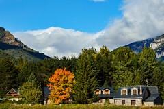 Otoo (cesarpc1975) Tags: paisaje huesca pirineos espaa rbol aragn montaa casa nikon