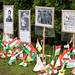 Ünnepi megemlékezés az 1956-os forradalom és szabadságharc 60. évfordulóján a budapesti Széna téri emlékműnél