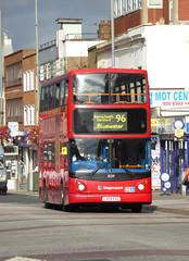 SLN 18219 - LX04FXG - BEXLEYHEATH SHOPPING CENTRE - FRI 9TH SEPT 2016 (Bexleybus) Tags: bexleyheath shopping centre kent stagecoach london adl dennis trident alx400 alexander tfl route 96 18219 lx04fxg