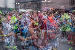 And They're Off (Phil Roeder) Tags: desmoines iowa canon6d canonef70200mmf4lusm 2016imtdesmoinesmarathon marathon multipleexposure blur runners running