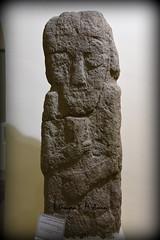Statue of a deity or man from Musasir Kingdom (Sumer and Akkad!) Tags: iraq kurdistan erbilcivilizationmuseum musasir urartu mesopotamia sandstone statue