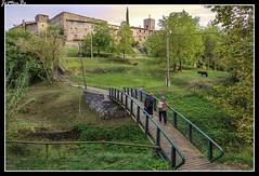 Santa Pau (jemonbe) Tags: santapau recinto murallas plazaporticada jemonbe gerona girona