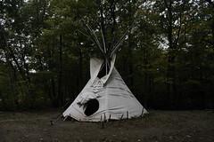 Coeymans Hollow, NY (Alaina H.) Tags: camping tipi upstatenewyork
