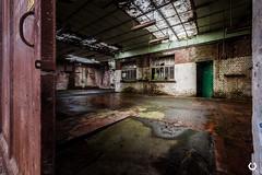 Licenciement sec (thomascaryn.com) Tags: belgique belgium exploration trekker urbex abandoned decay factory forgotten friche urbaine usine abandonn