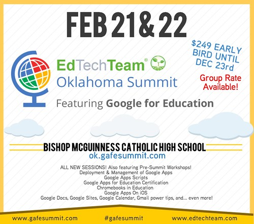 Google Summit OKC: Feb 21-22, 2014 by Wesley Fryer, on Flickr