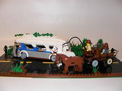DSCF0006 (shumpei_sano_exp8) Tags: greyhound bus lego cart ruined apocalego headforthehillsapocalegocontest