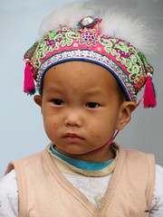 Cute Dong child (Linda DV) Tags: china street travel portrait people cute face children geotagged kid child candid young culture clothes kind guizhou ethnic minority enfant dong ethnology 2014 travelphotography liping tangan zhaoxing travelportrait geomapped minorit minderheid lindadevolder picmonkey:app=editor