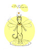 What gift will you do for me in your Angel Day (cococinemacom) Tags: dog holiday detail art love animal yellow angel pen sketch wings eyes wolf artist day heart drawing cartoon sunny ears ukraine line adventure mat story card fantasy gift question collar kiev greeting tale cococinema