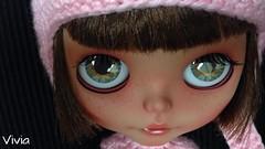Norah, blythe RBL Heather Sky re-custom