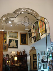 "VENETIAN ART DECO PIER MIRROR, TALL • <a style=""font-size:0.8em;"" href=""http://www.flickr.com/photos/51721355@N02/15865121578/"" target=""_blank"">View on Flickr</a>"