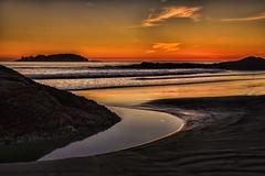 Vancouver Island (photobydave@gmail.com) Tags: ocean sunset storm beach clouds waves pacific sandy tide columbia vancouverisland mackenzie tofino british ebb chesterman