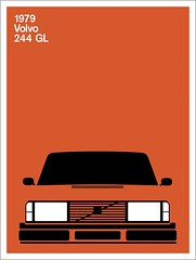 Print (Montague Projects) Tags: volvo 1979 244 scandinaviandesign carposter