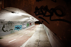 Street art photography - Alcobendas (edhuortiz) Tags: street art night graffiti arte sony graf pintadas calles alcobendas tnel