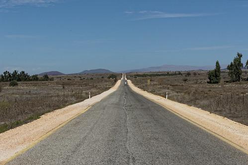 Route 98 durch den Golan