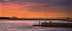 Winter sunset... (moraypix) Tags: seasons wintersunset winterlight findhorn specialplace pastelcolours pastelsunset
