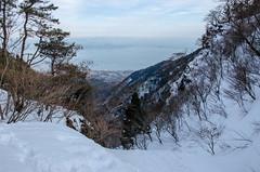 Hira, Shiga /  (Kaoru Honda) Tags: winter white mountain snow nature japan trekking landscape japanese nikon outdoor hiking mountainclimbing mountaineering       shiga  mountaintrail hira    lakebiwa       bunagatake d7000