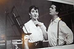 "Maria Callas and Giuseppe Di Stefano - Teatro alla Scala (""Rigoletto""), September 1955 - Exhibition at Feltrinelli-Martiri in Naples, until February 1, 2015 (Carlo Raso) Tags: italy naples rigoletto mariacallas teatroallascala giuseppedistefano"