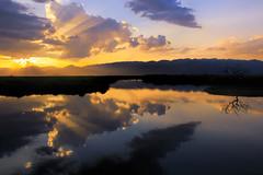 Sunset 07 (DepictingPhotos) Tags: reflections burma lakes sunsets inlelake