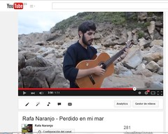 """PERDIDO EN MI MAR""   (rafanaranjitorrico) Tags: sea music beach mar lyrics video spain flickr play guitar song guitarra huelva like playa pop follow views musica indie environment hd fusion rafa videoclip vasco musicvideo flamenco channel pais chords songwriter facebook ig matalascaas subscribe naranjo youtube twitter flamencofusion tumblr instagram instagramapp ntrafa"