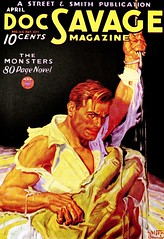 Doc Savage Magazine Vol. 3, No. 2 (April, 1934). Cover Art by Walter M. Baumhofer (lhboudreau) Tags: magazine docsavage pulp magazines 1934 pulpmagazine magazineart pulps pulphero pulpart pulpmagazines vintagepulpart vintagepulp walterbaumhofer streetsmith april1934 vintagepulpmagazine vintagepulps docsavagemagazine waltermbaumhofer volume3number2 vintagepulpmagazines
