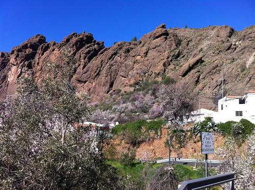 In den Bergen in der Nähe von Tejeda (Gran Canaria)