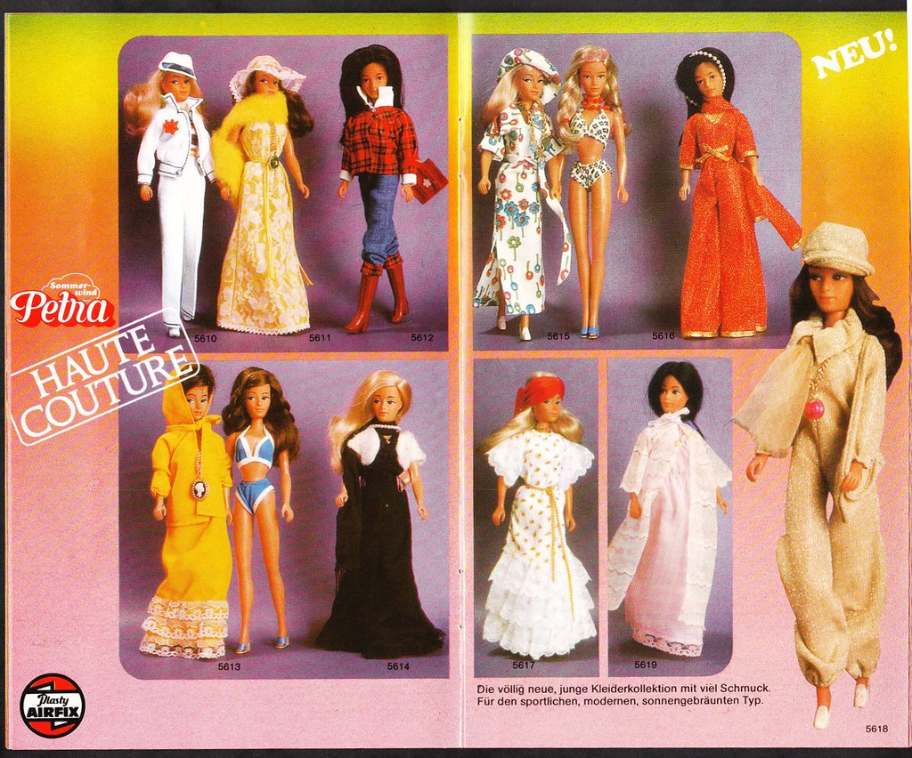 Barbiepuppen & Zubehör /Mattel 1975 Petra Mode Katalog #5722 Puppen & Zubehör