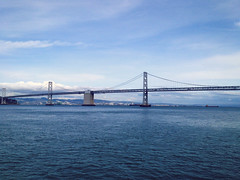 Bay to Bay. (emilypallack) Tags: ocean sanfrancisco photography baybridge 2014