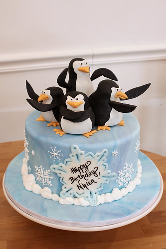 Penguin Birthday Custom