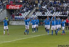 Saludo prepartido (Dawlad Ast) Tags: b espaa real 1 spain soccer asturias carlos enero galicia estadio deporte grupo oviedo nuevo vigo segunda coruxo 2015 futbo tartiere