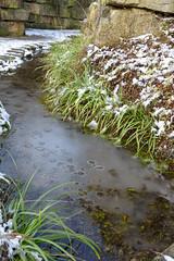 Eisbach im Park Der Sinne (Hannipic (PhotoArt Laatzen)) Tags: winter see hannover eis niedersachsen parkdersinne nikond5200