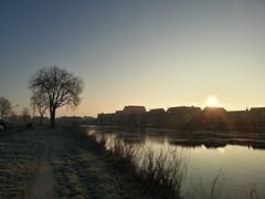 Winter langs de Schans Uithoorn (nheij) Tags: winter ice water bevroren nederland amstel schans ijs uithoorn vriezen amstelhoek