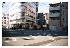 (Alexander Rios) Tags: 35mm tokyo superia contax 400 fujifilm t2 kamata fujicolor