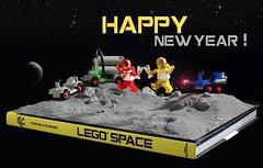 HAPPY NEW YEAR ! (Shobrick) Tags: moon tim lego space peter reid minifig goddard muttpop shobrick