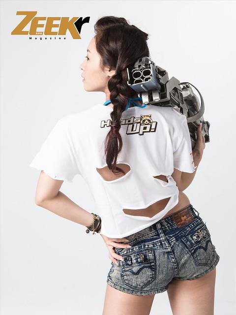 ZEEK Girl-星際異攻隊3