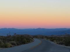 Sunset Road (Mru K) Tags: california road sunset usa twilight joshuatree joshuatreenationalpark